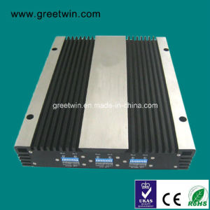 10-20dBm GSM850+1900+4G 2600 Tri Band Cellphone Signal Repeater/Cell Signal Booster (GW-20CPL) pictures & photos