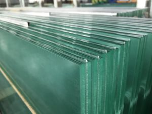 Clear Laminated Glass 6.38-31.52mm pictures & photos