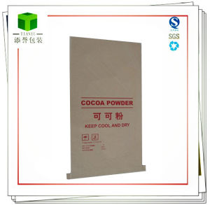Open Mouth Paper Bag for Corn Starch and Cococa pictures & photos