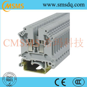 Universal Screw Connection DIN Rail Terminal Blocks (SKJ-4) pictures & photos