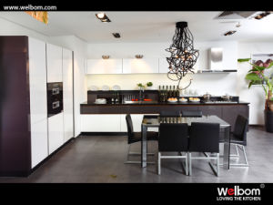 Welbom Modular Kitchen Designs Lacquer Kitchen Cabinet for Small Kitchen pictures & photos