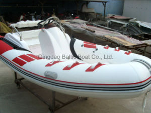 Cabin Fiberglass Fishing Rib Boat 420 Ce pictures & photos