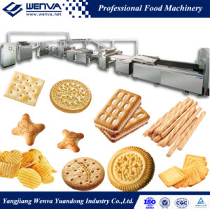 Full Automatic Hard and Soft Biscuit Production Line pictures & photos