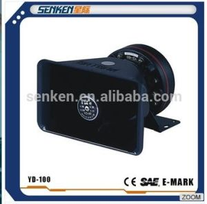 Senken 100W Police Warning Alarm Fire Trucks or Ambulance Siren Electronic Horn Loudespeaker pictures & photos