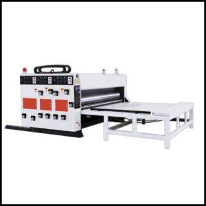 Semi-Automatic Corrugated Carton Flexo Printing Machine pictures & photos