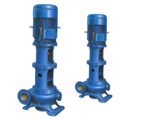 Vertical Non-Clog Sewage Pump with Easy Installation pictures & photos