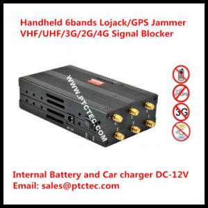 6 Antennas High Power Portable 3G/ 315/ 433/ Lojack Jammer/Blocker pictures & photos