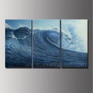 Handmade Seascape Art Wave Oil Painting (SE-199) pictures & photos
