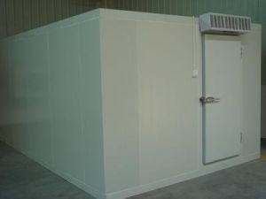 Customer Assembling Walk in Freezer Cold Room pictures & photos