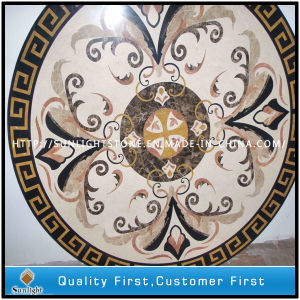 Natural Marble Stone Water Jet Flooring Medallions pictures & photos