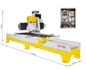Syq-600 Manual Edge Cutter-Stone Slab Manual Cutting Machine pictures & photos