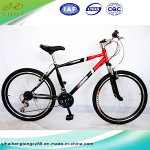 26inch Steel Mountain Bike/Bicycle with Cheap Price (SH-MTB080) pictures & photos