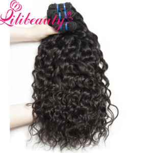 Wholesale Price Natural Color Water Wave Brazilian Virgin Hair pictures & photos