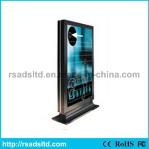 Double Sides Advertising Scrolling Lightbox