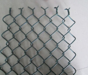 Black Coated Chain Wire Mesh in Roll pictures & photos