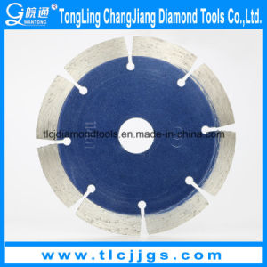 Gold Dry Cutting Sinter Diamond Saw Blade for Marble, Grainte pictures & photos