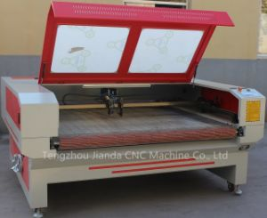 Roll Fabric Laser Cutting Machine with Double Heads pictures & photos