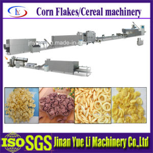 Automatic Corn Snack Chips Breakfast Cereals Making Machine