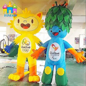 Inflatable Air Brazil Rio-De-Janeiro Olympic Games Vinicius and Tom Mascot pictures & photos