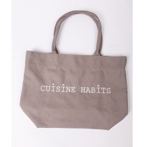 Wholesale Custom Printed Foldable White Cotton Canvas Shopping Bags