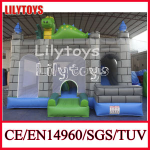 Best Sell Cheap 0.55mm PVC Indoor Inflatable Bouncer Castle (J-BC-033)