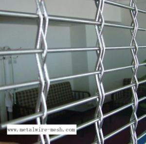 Decorative Wire Mesh Used for Curtain Wall pictures & photos