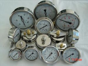 Pressure Gauge with Oil for RO Water Equipment pictures & photos