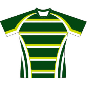 Sublimated Rugby Uniform T Shirt with Logos pictures & photos