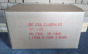 M30 Deluxe Steel High Hardness 58PCS Clamping Kit pictures & photos