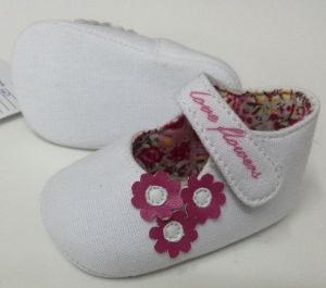 White Baby Shoes Ws17516