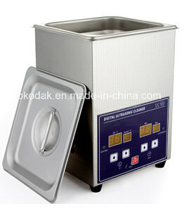 2L Stainess Steel Body Digital Ultrasonic Cleaner with CE RoHS pictures & photos