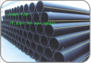 Dn160 Pn0.4 PE100 High Quality PE Pipe for Gas Supply pictures & photos