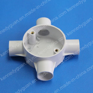 Electrical Pipe Fittings Circular Box pictures & photos