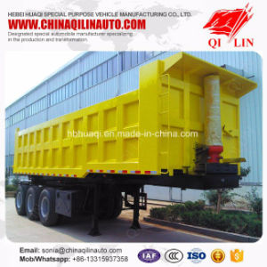 3 Axles 60 Tons Tipper Semi Trailer for Coal Transport pictures & photos