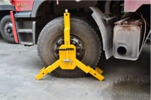 Heavy Duty Anti-Theft Car Tire Wheel Clamp Lock pictures & photos