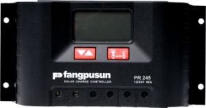 Pr245 Fangpusun Home Lamp LCD Solar Energy Charge Controller / Regulator PWM Control 12V/24V 45A with CE RoHS