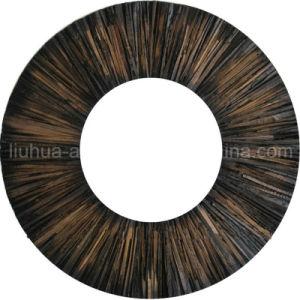 Antique Wooden Sunburst Effect Popular Design Decorative Mirror (LH-000557) pictures & photos