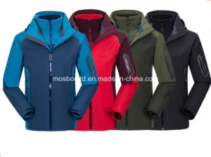 Men′s Waterproof Mountain Jacket with Cap pictures & photos