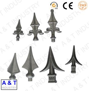 Hot Sales Forging Iron Decorative Gate Accessories with High Quality pictures & photos