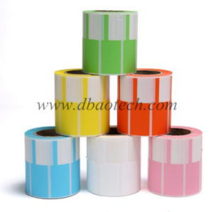 Rolled Cable Label Tags, Thermal Transfer Printing Cable Sticker Labels, Wire Marking Labels