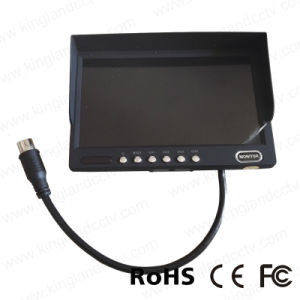 DC12V-24V 7inch Quad Rear View Car LCD Monitor pictures & photos