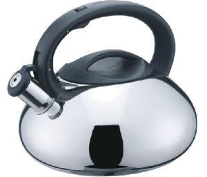 3.0L Auto Open Stainless Steel Whistling Kettle pictures & photos