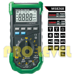 Professional 4000 Counts Digital Multimeter (MS8268) pictures & photos