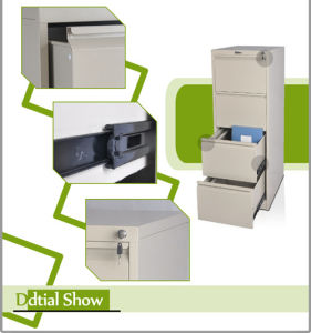 Colorful Knock Down Structure Steel Drawer Cabinet (FC-D2/3/4G)