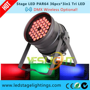 Disco Lamp LED PAR Can 36*3W Lp363 pictures & photos