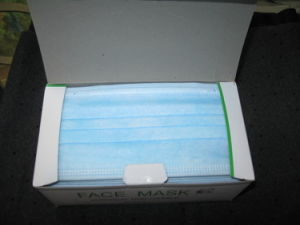 2ply Competitive Disposable Nonwoven Face Mask pictures & photos
