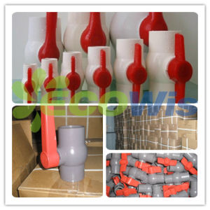 Plastic High Pressure PVC Ball Valve pictures & photos