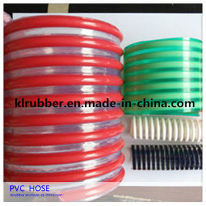 PVC Reinforced Plastic Suction Hose for Water Pump pictures & photos
