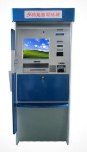 17inch Customize Health Kiosk Terminal with Barcode Scanner and Bill Acceptor for Payment pictures & photos