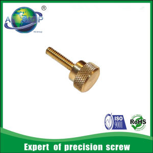 Stainless Knurled Thumb Screw High Quality 1/4 Thumb Screw